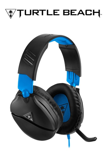 [204319] Turtle Beach PS4 Ear Force Recon 70P Wired Headset (Black/Blue)