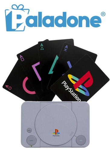 [204329] Paladone PlayStation Playing Cards
