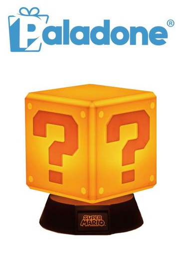 [204330] Paladone Question Block 3D Icon Light BDP
