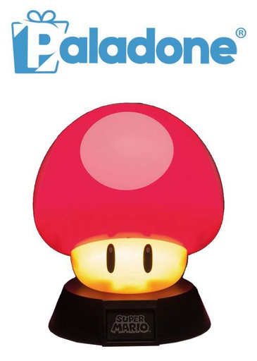 [204337] Paladone Super Mashroom 3D Icon Light BDP