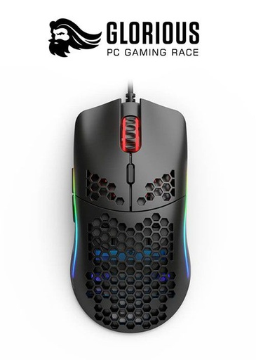 [204347] Glorious Model O RGB Gaming Mouse - Matte Black