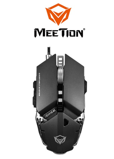 [224342] Meetion M985 Pro Gaming Mouse- Gray