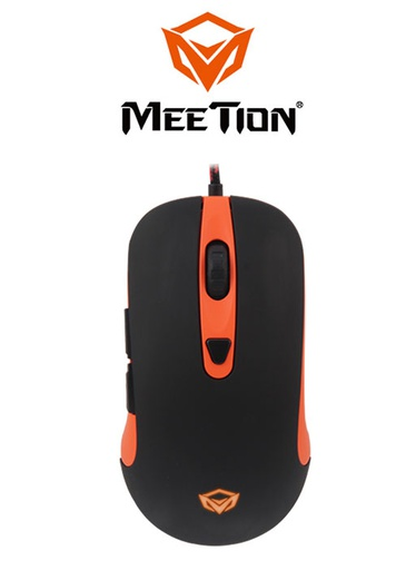 [224348] Meetion GM30 Gaming Mouse- Black