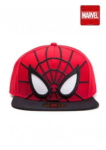 [264531] Spider-man - 3D Snapback with Mesh Eyes Cap