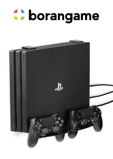 [324490] Wall Mount Universal PS4 - Game Vspace Duo (Borangame)