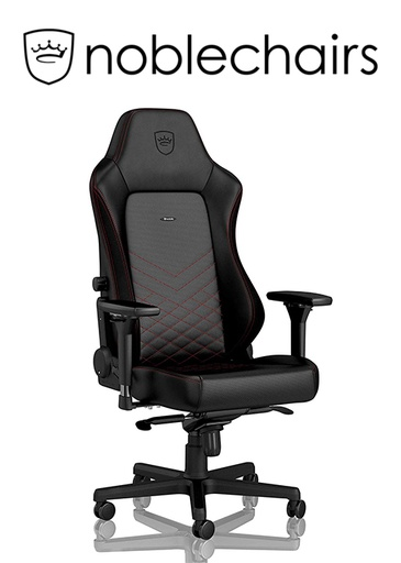 [434517] Noblechairs HERO Gaming Chair - Black/Red