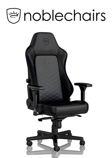 [434518] Noblechairs HERO Gaming Chair - Black/Blue