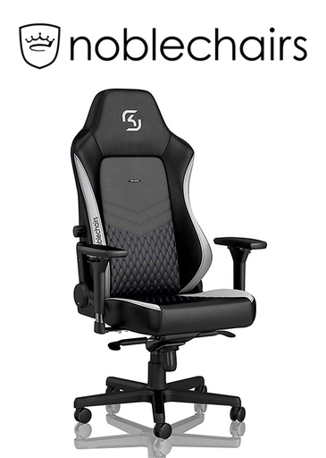 [434521] Noblechairs HERO Gaming Chair - SK Gaming Edition, Black/White/Blue