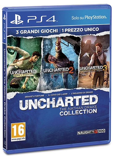 [SP504538] PS4 Uncharted: The Nathan Drake Collection R2 Arabic