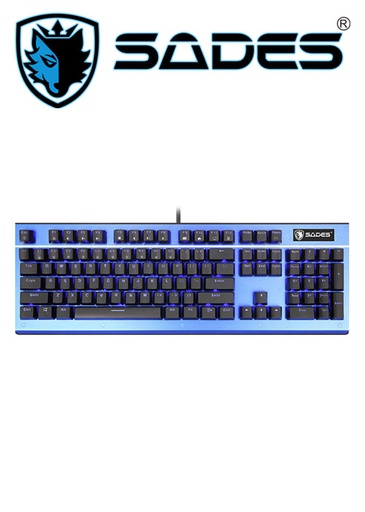 [524556] SADES Keyboard Sickle Mechanical Gaming K13 - Blue
