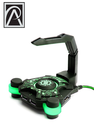 [534573] ENHANCE Gaming Mouse Bungee - Green