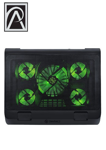 [534586] ENHANCE Laptop Cooling Stand – Green