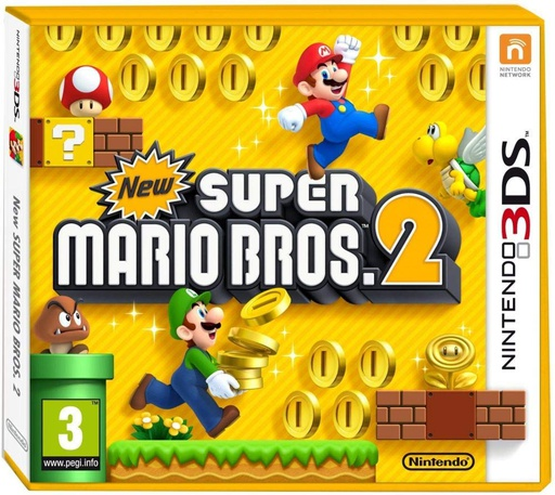 [1244] 3DS New super mario Bros. 2 PAL