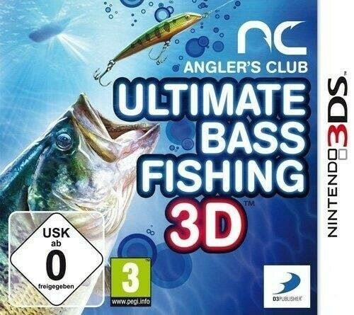 [1649] 3DS Anglers Club: Ultimate Bass Fishing PAL