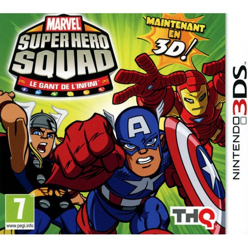 [1655] 3DS Marvel Super Hero Squad: Infinity Gauntlet 2 PAL