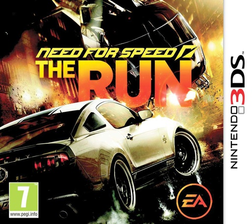 [1657] 3DS Need for Speed: The Run PAL
