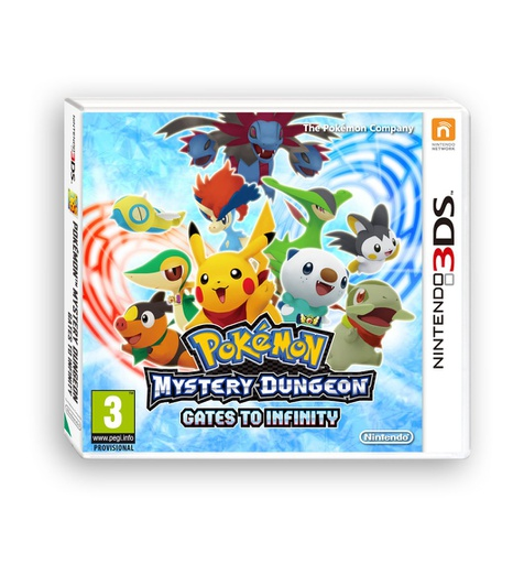 [1659] 3DS Pokemon Mystery Dungeon: Gates to infinity PAL