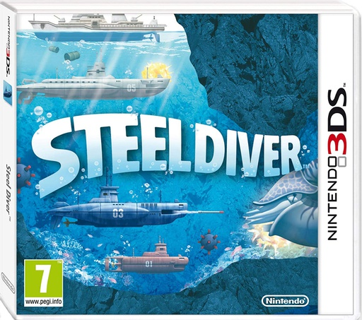[1662] 3DS Steel Diver PAL