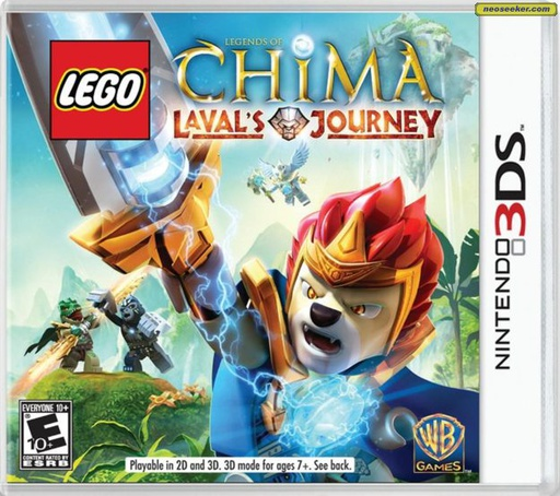 [1744] 3DS LEGO LEGENDS OF CHIMA LAVALS JOURNEY NTSC