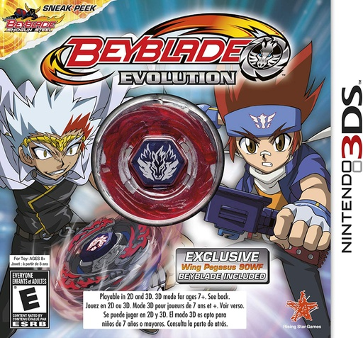 [21927] 3DS Beyblade Evolution Collector's Edition NTSC
