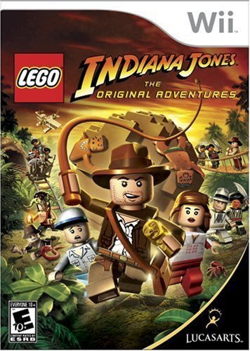 [22225] Wii Lego Indiana Jones NTSC