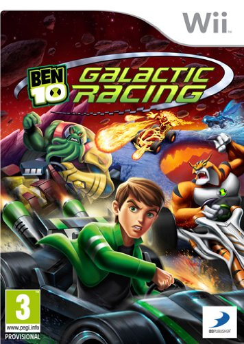 [22226] Wii Ben 10 Galactic Racing PAL