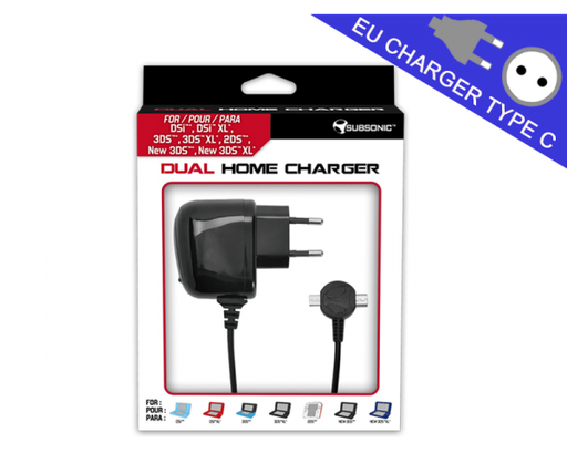 [22313] 3DS 6 in 1 Home Charger (Subsonic)