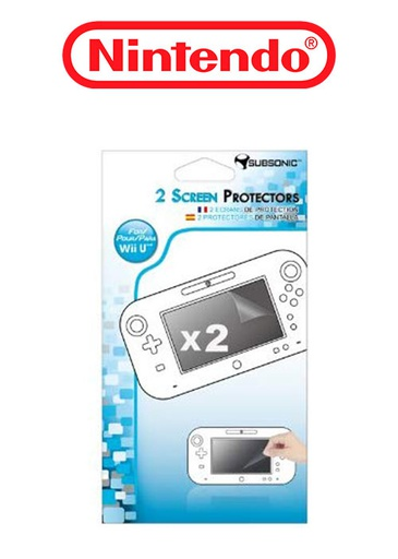[22317] Wii U Screen Protectors Pack (Subsonic)