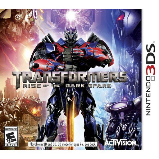 [22360] 3DS Transformers Rise of the Dark Spark NTSC