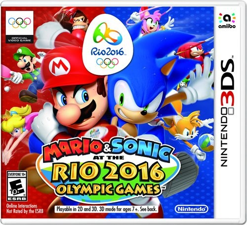 [142899] 3DS Mario & Sonic At The Rio 2016 Olympic Games NTSC