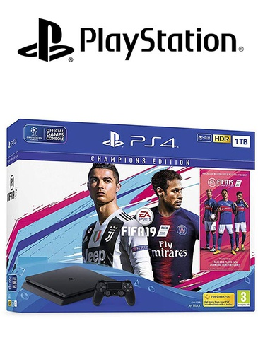 [S203844] PS4 1TB With FIFA 19 Champions Edition Arabic