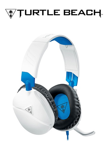 [604654] Turtle Beach PS4 Ear Force Recon 70P Wired Headset - White