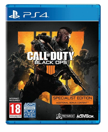 [604655] PS4 Call of Duty Black Ops IIII - Specialist Edition R2 (Arabic)