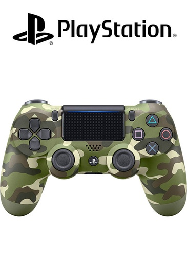 [SP204124] PS4 DS4 Controller Green Camouflage V2