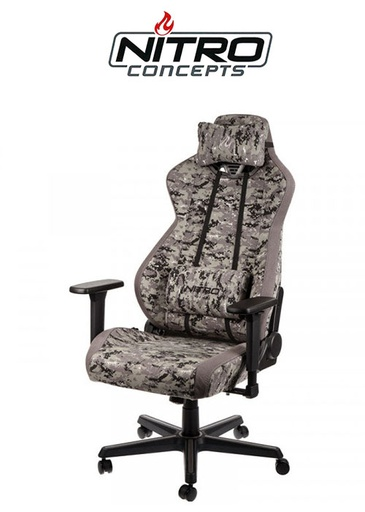 [625047] Nitro Concepts S300 Gaming Chair - Urban Camo
