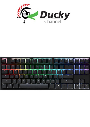 [624724] Ducky One 2 TKL RGB Gaming Keyboard - Red Switch