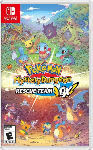 [675000] NS Pokemon Mystery Dungeon: Rescue Team DX NTSC