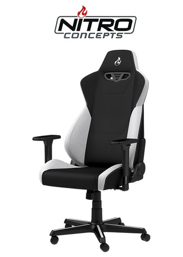 [675772] Nitro Concepts S300 - Radiant White Gaming chair