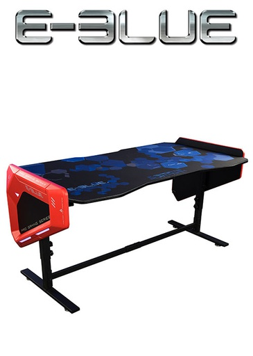 [675837] E-Blue EGT003 HIGHT ADJUSTABLE  RGB GAMING DESK