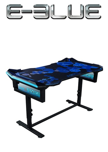 [675838] E-Blue EGT004 HIGHT ADJUSTABLE  RGB GAMING DESK