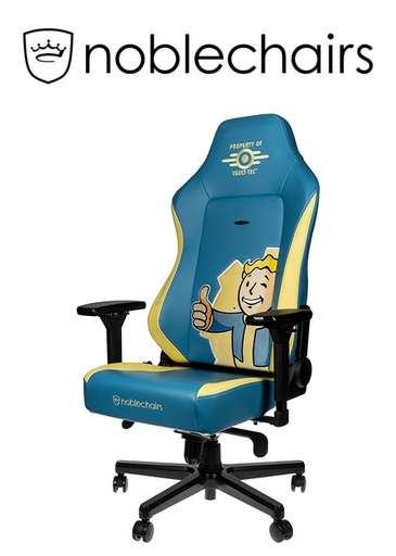 [675849] Noblechairs HERO Gaming Chair -  Fallout Vault Tec Edition