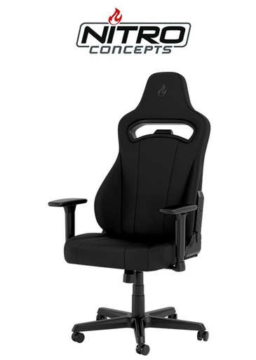 [675850] Nitro Concepts E250 Gaming Chair - Black