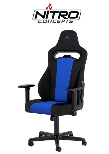 [675851] Nitro Concepts E250 Gaming Chair - Black/Blue