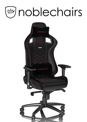 [675948] Noblechairs EPIC Series - Black/Pink