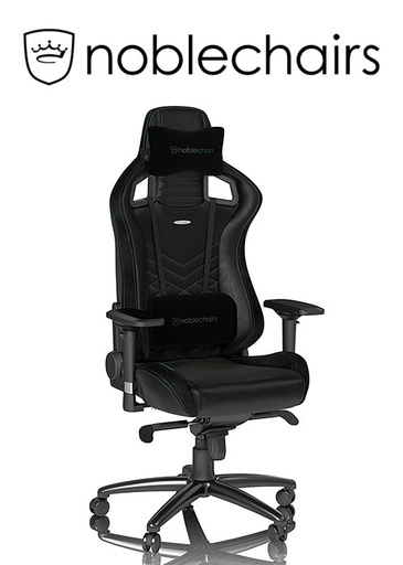 [675949] Noblechairs EPIC Series - Black/Green