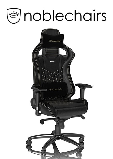 [675950] Noblechairs EPIC Series - Black/Gold