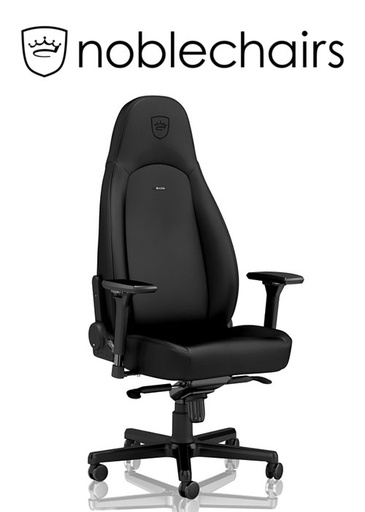 [675955] Noblechairs ICON  Gaming Chair - BLACK EDITION