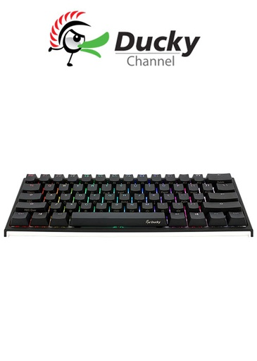 [675957] Ducky One 2 Mini (V2) RGB DS PBT Blue Cherry MX Mechanical Keyboard  (US Layout)