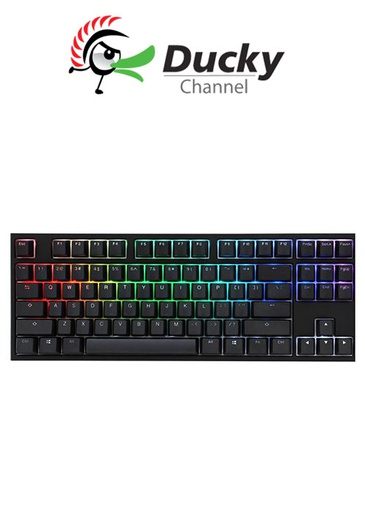 [675961] Ducky One 2 TKL RGB Gaming Keyboard - Silent Red Switch