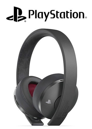 [S675968] SONY PS4 Headset Last of Us 2 Gold Wireless Headset - limited Edition